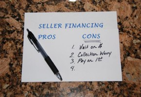 The Downside of Owner Financing – Disadvantages to Seller Financing