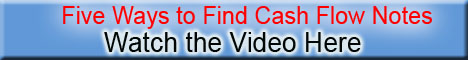 Find Cash Flow Notes Video Banner