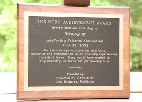 NoteWorthy Industry Achievement Award Interview
