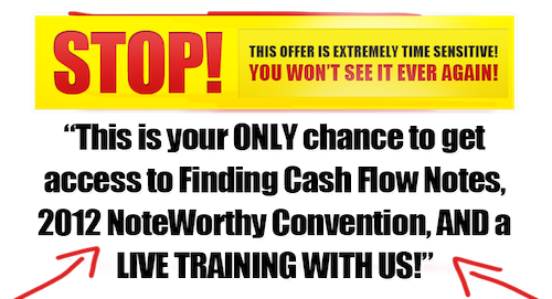 Note Business Convention Coupon