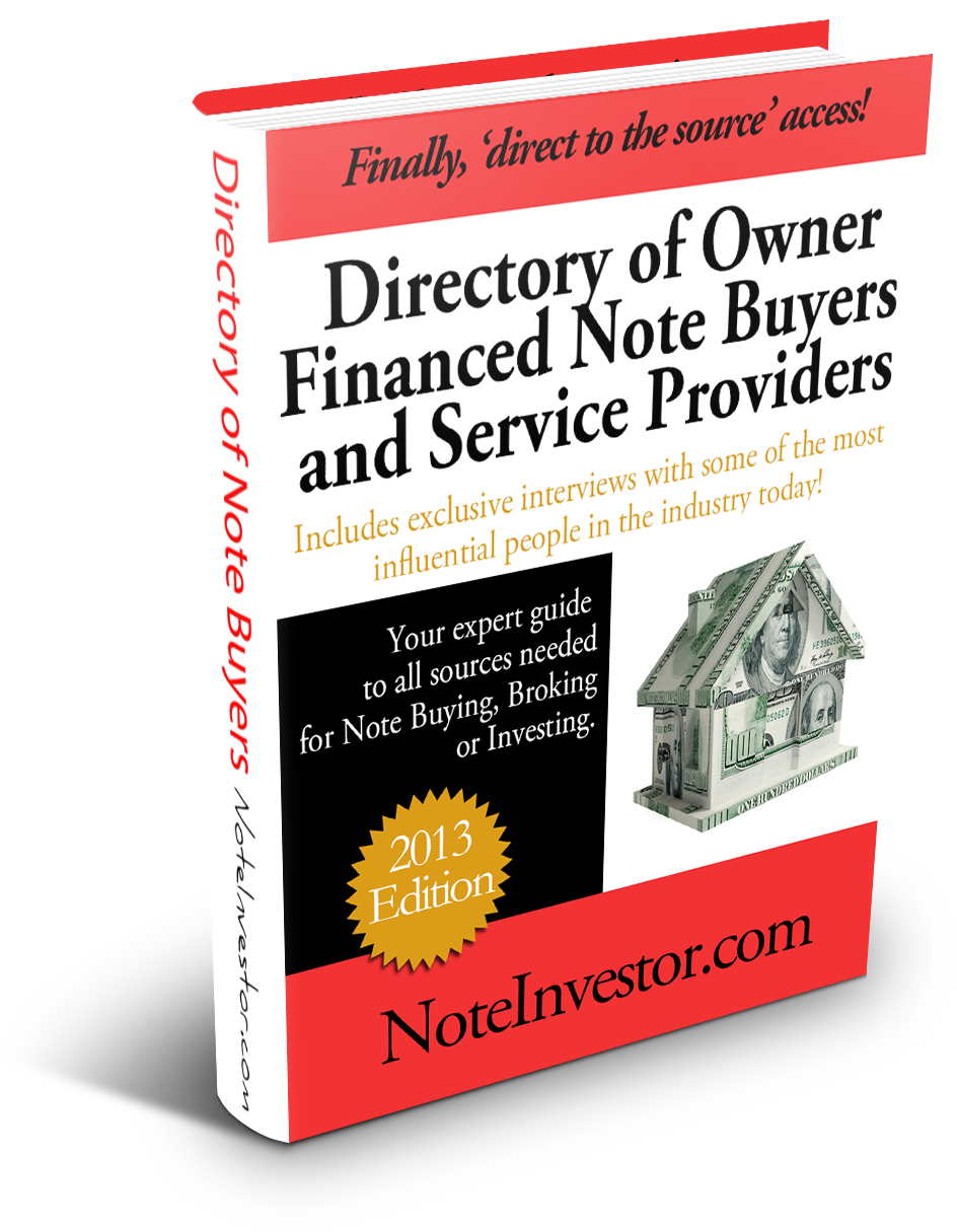 Note Buyer Directory 2013