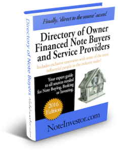 Note Buyer Directory 2016