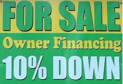 Seller Financing Sign