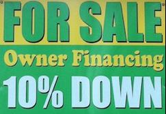 Seller Financing Sign