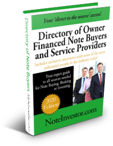 2020 Note Buyer Directory from Note Investor