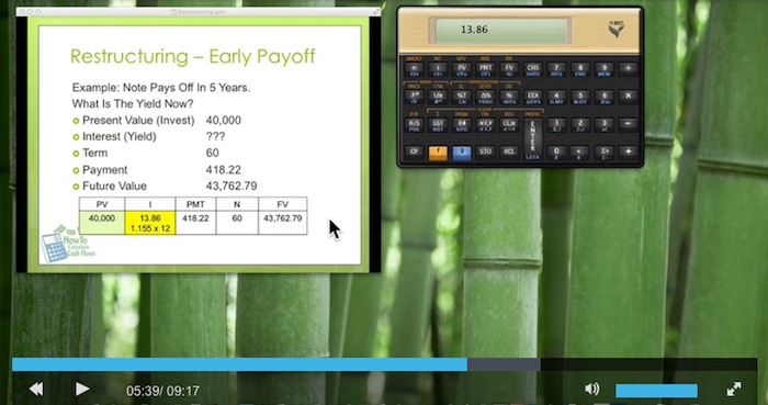 Increase Note Investing Yields Video Preview