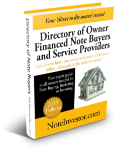 2019 Note Buyers Directory Cover