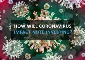 Coronavirus Real Estate Note Investing