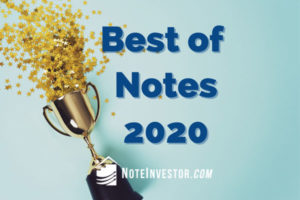 Trophy for Best of Note Investing 2020